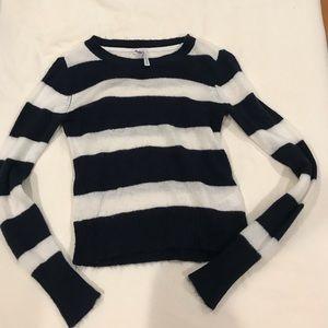 Long sleeve stripped sweater